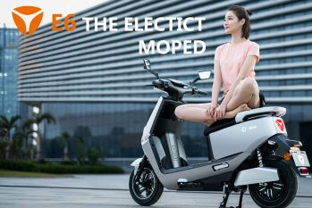 E6 electric lightweight motorcycle
